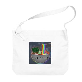 ゲーミングラーメン Big shoulder bags