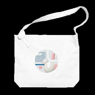 nkrのしろだるま Big shoulder bags