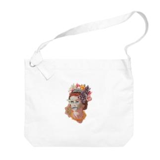 Money Queen Big shoulder bags
