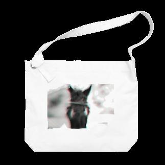 永久凍土の国の白夜の黒馬の物語、1 Big shoulder bags