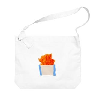 雞排(チーパイ) Big shoulder bags