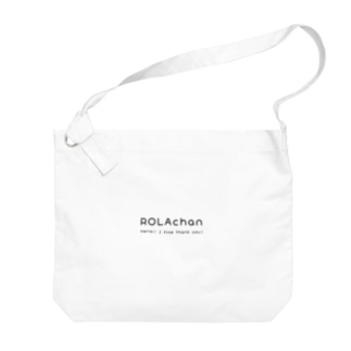 ローラちゃんフォント Big shoulder bags