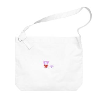 ひわこちゃん Big shoulder bags