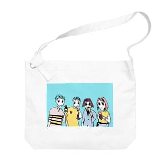おともだちバック👬👭 Big shoulder bags