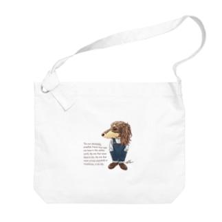 おしゃれダックス Big shoulder bags