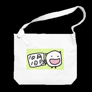 ダイナマイト87ねこ大商会の10月10日が好きなねこです Big shoulder bags