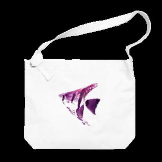 zikomanking SHOPの紫魚(しぎょ) Big shoulder bags