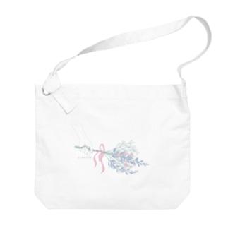 カスミソウ Big shoulder bags