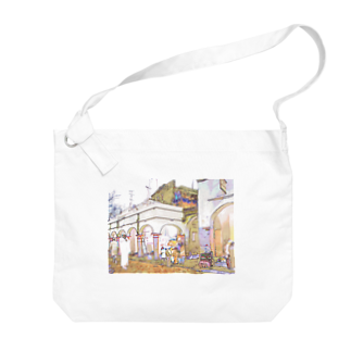 FUCHSGOLDのCG絵画:アライシュのカスバ CG art: Larache Big shoulder bags