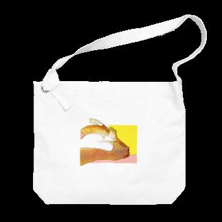 ごちゃごちゃのヤギ Big shoulder bags