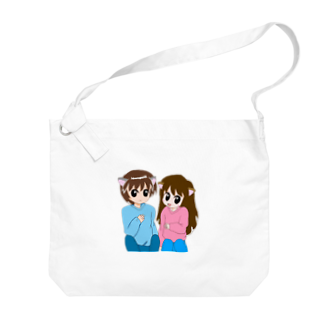 Neroliの猫耳カップル Big shoulder bags