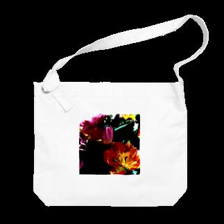 galah_addの官能の授業:チューリップ Big shoulder bags