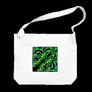 天獄堂のTile02 Big shoulder bags