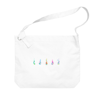 MoyoMoyoのいのちのほのおコレクション2 Big shoulder bags