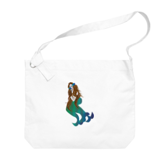 hoossiiiiiのアマビエちゃん Big shoulder bags