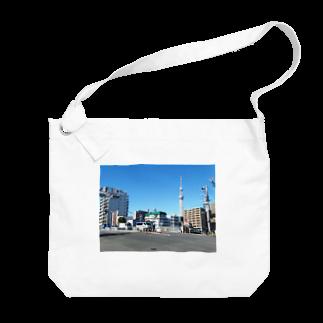 FUCHSGOLDの東京都:天神橋の風景写真 Tokyo: Tenjinbashi / Border of Sumida & Koto Big shoulder bags
