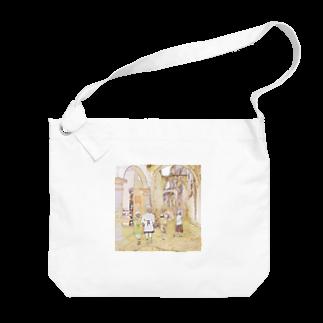 FUCHSGOLDのCG絵画:アライシュの風景画 CG art: Larache  Big shoulder bags