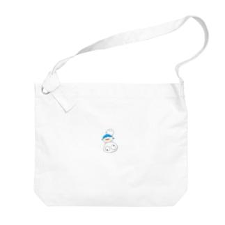 ぴーぐみ(真) Big shoulder bags