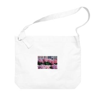 nagasaki flower Big shoulder bags