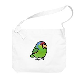 Chubby Bird フジイロボウシインコ Big shoulder bags