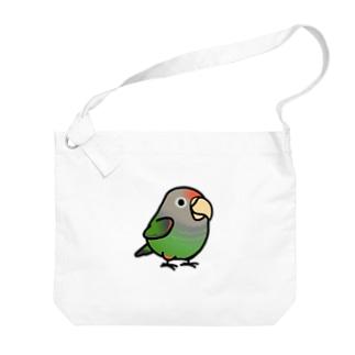 Chubby Bird ハネナガインコ Big shoulder bags
