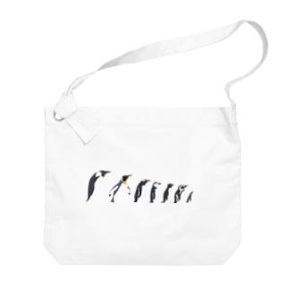 ペンギンタクサン Big shoulder bags