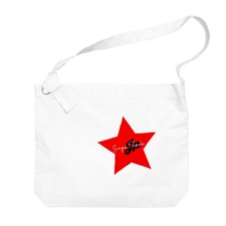 JP STAR LOGO Big shoulder bags