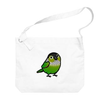 Chubby Bird イワウロコインコ Big shoulder bags