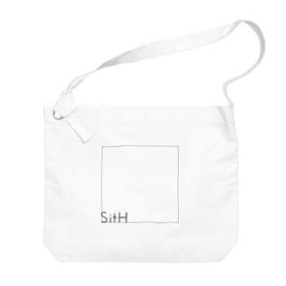 Simple_Square Big shoulder bags