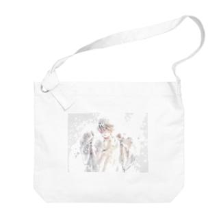 ダボ Big shoulder bags