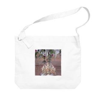 フラワーデコラシオン Big shoulder bags