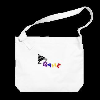 めがねっこのゆーふぉーきゃっちゃ〜 Big shoulder bags
