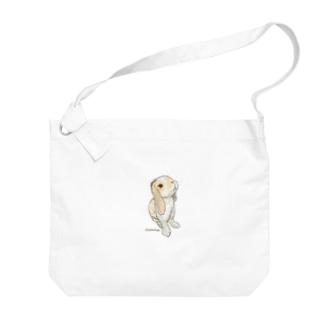 イラストレーターRYoのラムちゃん Big shoulder bags