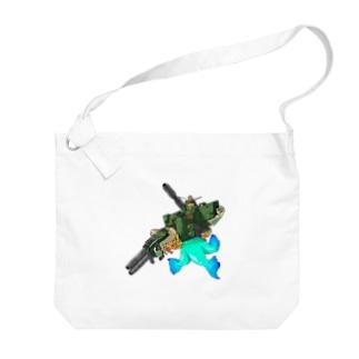 K′z SHOPのフルアーマーアマビエ Big shoulder bags