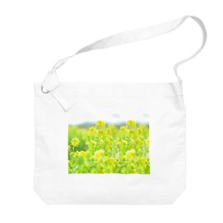 orange_honeyの菜の花5-2 Big shoulder bags
