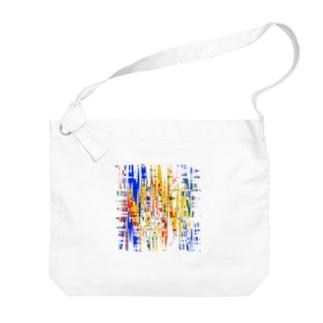PetrichorのPizza Big shoulder bags