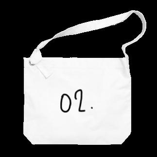 m.の特に意味もない番号 Big shoulder bags