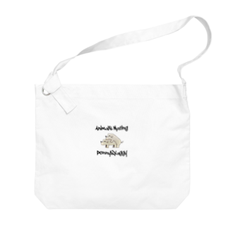 Animals MatingのDogs  Mating(犬の交尾) Big shoulder bags