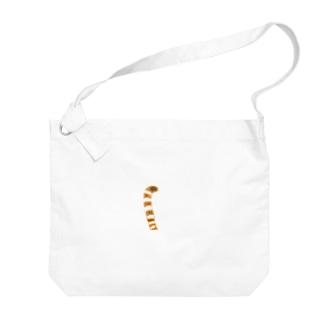 猫の尻尾 anitail series Big shoulder bags