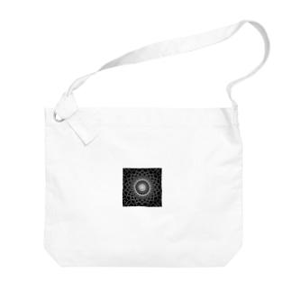 幾何学模様 series Big shoulder bags