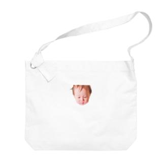 にょにょ 菩薩風 Big shoulder bags