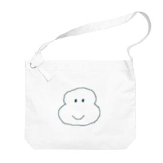 ほっぺグッズ Big shoulder bags