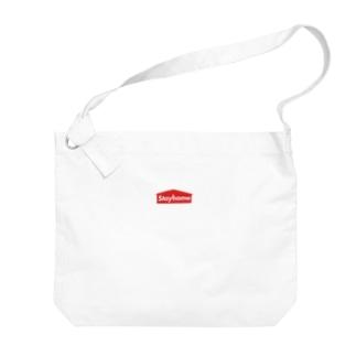 Stayhome  ~コロナに負けるな~ Big shoulder bags