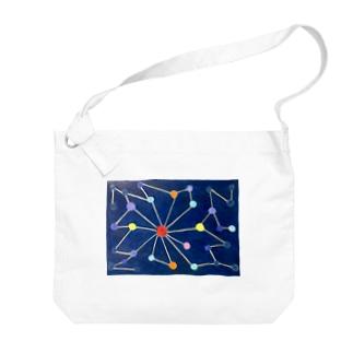 導きの星座 Big shoulder bags