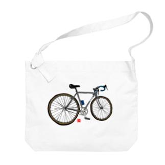 分断サイクル Big shoulder bags