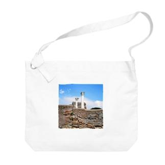 イタリア:オスティアの神殿遺跡 Italy: view of Ostia Big shoulder bags