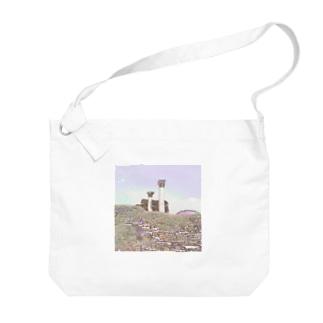 CG絵画:オスティアの神殿遺跡 CG art: Ostia Big shoulder bags