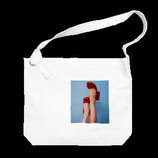 Fantasy nightのportrait Photo Big shoulder bags