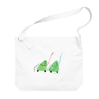 ココシバ×ヨシマツチグサ Big shoulder bags
