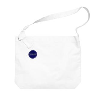 SHIRABE LOGO Big shoulder bags